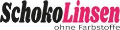 Logo Schokolinsen ohne Farbstoff
